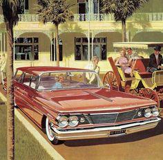 1960 Pontiac Catalina Safari: Art Fitzpatrick and Van Kaufman
