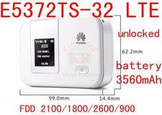 Unlocked Huawei E5372 E5372s-32 E5372Ts-32 150mbps 4G lte wifi router 4g lte mifi dongle LTE wifi router 4g PK E5776 E589  — 4249.12 руб. —