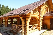 Home Fashion, Cabin, House Styles, Outdoor Decor, Home Decor, Decoration Home, Room Decor, Cabins, Cottage