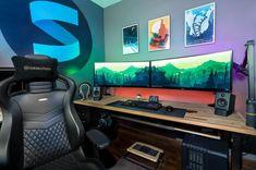 Dual UltraWide Setup