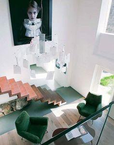Living room in a Chianti's house, Italy - design Ugo Dattilo, photo Denise Bonenti