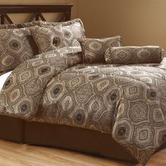 (Click to order - $70.99) Ysela Home Fashion 7-piece Comforter Set From Ysela