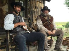 that bear was wearing peoples' clothes. Magnificent Seven 2016, Cowboy Films, Manolo Garcia, Horse Story, Love Film, Western Movies, Pictures Of People, John Wayne, Western Outfits