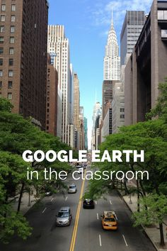 Cool! Ways to use Google Earth in the classroom (or home!) to show kids the world. Google Earth is an astounding, eye-opening, free geographic resource that allows you and your children to fly anywhere on the planet and zoom in to see cities, buildings, landmarks, ancient ruins, terrain: anything on Earth. The underwater tour and the amazon tour are my favorites!