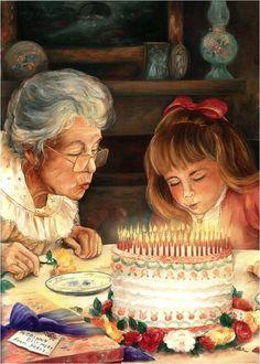 Special Times with Grandma ~ Paula Vaughn
