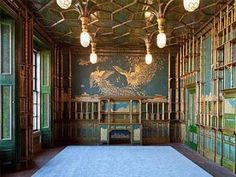 Whistler, Harmony in Blue and Gold: The Peacock Room, 1876-77
