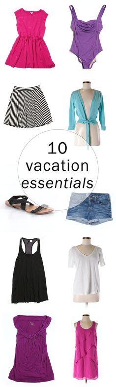 10 vacation essentials