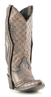 Womens Old Gringo Moni Caos Cowboy Boots Grey #L1199-9  #cowgirl #western