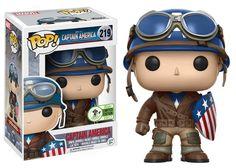 From Marvel it's Captain America First Avenger in Funko Pop form! Funko Pop Dolls, Figurines Funko Pop, Figurine Pop, Funk Pop, Captain Marvel, Captain America, Marvel Avengers, Marvel Comics, Funko Pop Marvel