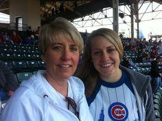 Cubs game. 2011