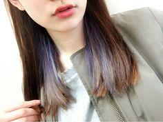 fu @puuu0027 念願の紫❤︎#髪色#...Instagram photo   Websta (Webstagram)