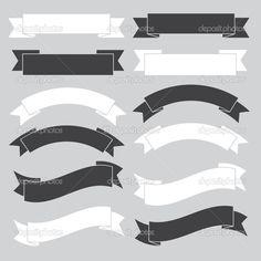Yükle - Eski şerit afiş, siyah ve beyaz — Stok İllüstrasyon #22157963