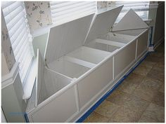 Image result for window seat with storage