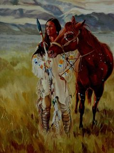 Image detail for -... Art Native American Art - Native American ArtOriginal Oil Paintings