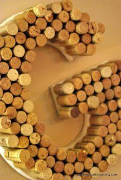 Cork monogram