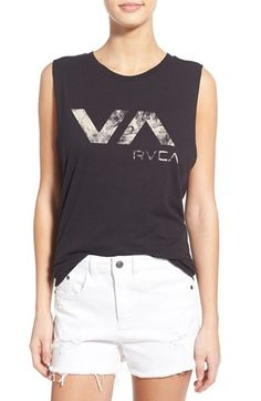 RVCA 'Lucidity' Graphic Muscle Tee available at #Nordstrom