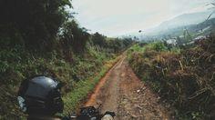 Jalan menuju Cipunegara , Lembang - Subang