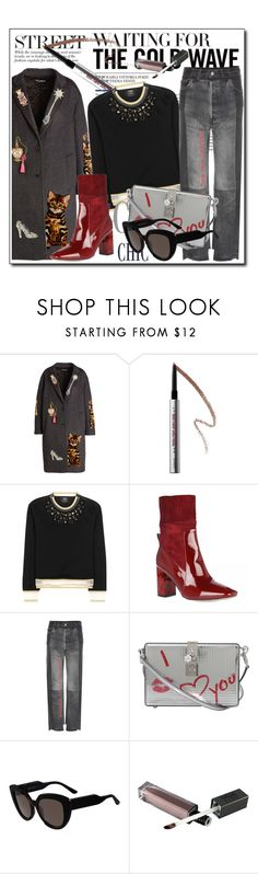 """Untitled #502"" by zhris ❤ liked on Polyvore featuring Dolce&Gabbana, Benefit, Fendi, Vetements and Marni"