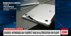Apple MacBook Pro saves man from bullet in Florida airport shooting