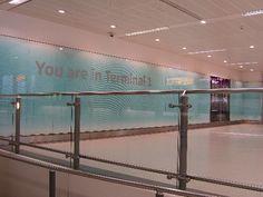 Structural Silicone Bonding, UV Glass Bonding - Heathrow Terminal 1  #Glass