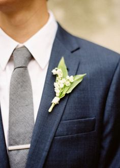 Boutonniere for my handsome groom!