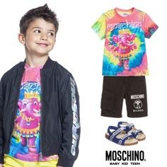 2da4e29ee6f152 Moschino Kids Mini Me 70s Vibe Elephant Jewels trend Mini Me