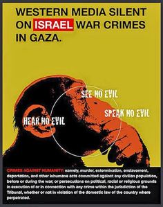 Ignoring war crimes is why they exist. Sickening. Free Palestine!