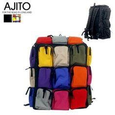 AJITO Multi-Compartment Backpack- love