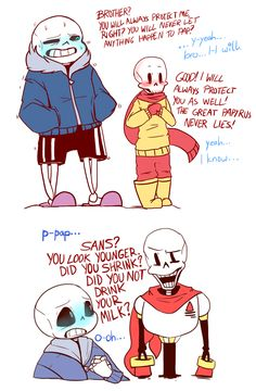 Undertale (sans and papyrus) | Timeswap AU