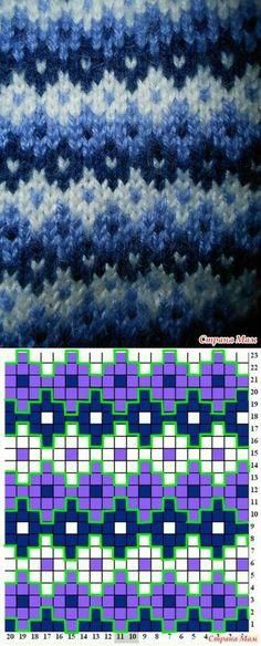 вязанные штучки – Knitting patterns, knitting designs, knitting for beginners. Fair Isle Knitting Patterns, Knitting Charts, Knitting Stitches, Knitting Designs, Knitting Projects, Knitting Socks, Baby Knitting, Knitting Tutorials, Vintage Knitting