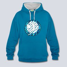 Bass clef Contrast Colour Hoodie