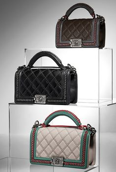 2f368b0d205c Calfskin Boy CHANEL flap bag Bella Donna's Luxury Designs Chanel Quilted  Handbag, Chanel Black,