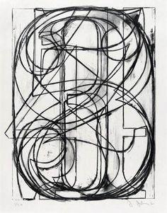 Jasper Johns lithograph