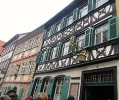 The oldest pub in Bamberg, Germany where the speciality is smoked beer.