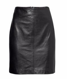 Leather Skirt | H&M
