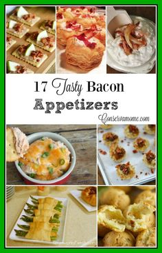 Here are 17 Tasty Bacon Appetizers that will be the hit of any party or gathering!