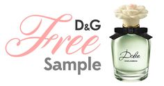 Here's your #Free #Sample Of Dolce by Dolce and Gabbana #Perfume!