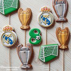 Hashtag #realmadridcookies en Instagram • Fotos y vídeos Soccer Party, Sugar Cookies, Icing, Hockey, Instagram, Sports, Hs Sports, Sport, Field Hockey
