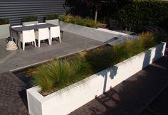 Tuinontwerp, modern, minimalistisch Landscape Design, Garden Design, London Garden, Outdoor Flowers, Pots, Outside Living, Contemporary Garden, White Gardens, Outdoor Furniture Sets
