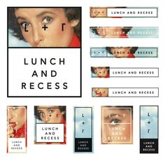 Lunch and Recess designed by Fuzzco