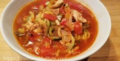 This keto Mexican chicken zoodle soup can be quickly put together by using our meal template. Discover how a meal template can make cooking faster and easier. Warm Salad Recipes, Soup Recipes, Keto Recipes, Drink Recipes, Yummy Recipes, Healthy Recipes, Baked Pesto Chicken, Chicken Zoodle Soup, Chicken Tacos