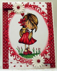 Tiddly inks image called Wryn grow a little love