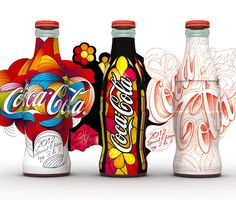 COCA-COLA ~ :: Packaging of the World: Creative Package Design Archive and Gallery: Coca-Cola Start Again
