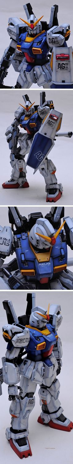 PG RX-178 Gundam Mk-II by Artman. | GundamPlanet