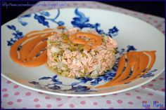 "#menú #entrante Falso #tartar de salmón con aceitunas --> https://www.petitchef.es/recetas/entrante/falso-tartar-de-salmon-con-aceitunas-fid-979912?utm_content=buffer27c24&utm_medium=social&utm_source=pinterest.com&utm_campaign=buffer Gracias a ""Cocinando con mi carmela"""
