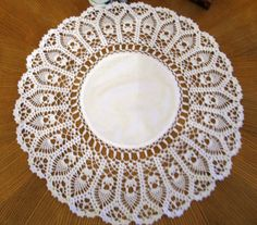 Hey, I found this really awesome Etsy listing at https://www.etsy.com/il-en/listing/258127155/crochet-lace-doily-19-inches-round-doily