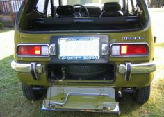 1972 Honda AZ600