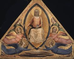 Bernardo Daddi, The Assumption of the Virgin, Italian, c. 1340