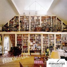 """A house that has a library in it has a soul."" OHMAHGURSH THIS IS HEAVEN"