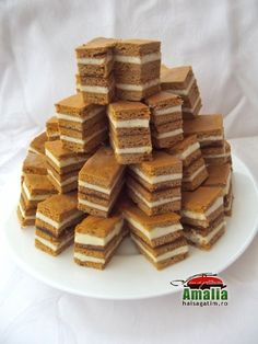 Sweets Recipes, Cake Recipes, Romanian Desserts, Food Cakes, Sweet Desserts, Sweet Treats, Cheesecake, Deserts, Food Porn